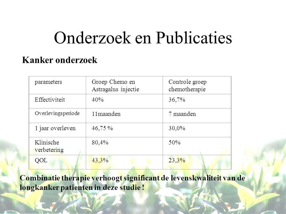 Onderzoek en Publicaties