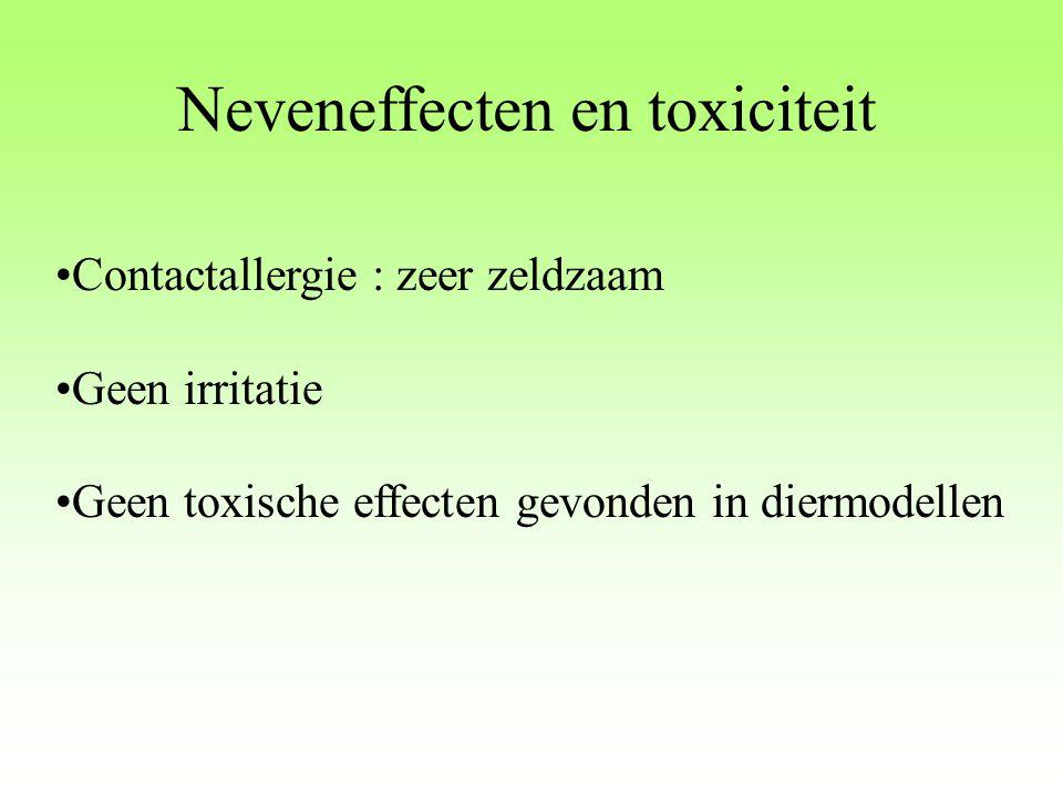 Neveneffecten en toxiciteit