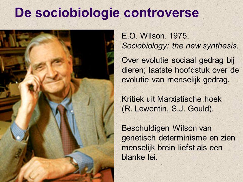 De sociobiologie controverse