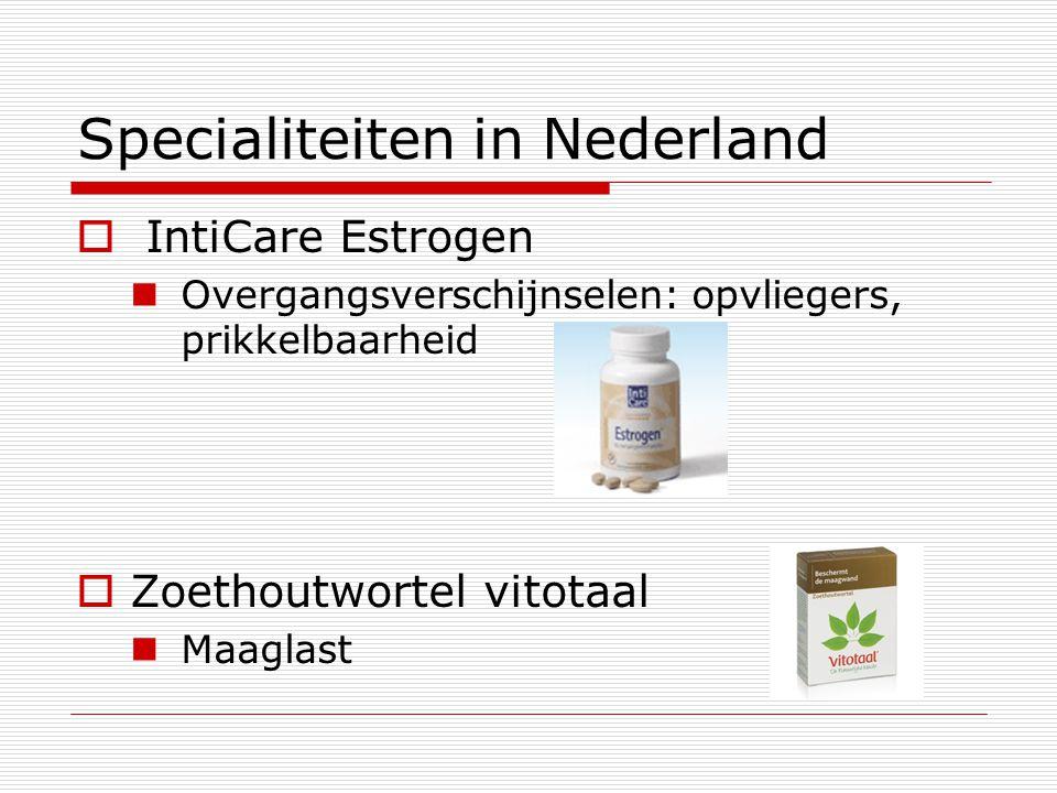 Specialiteiten in Nederland