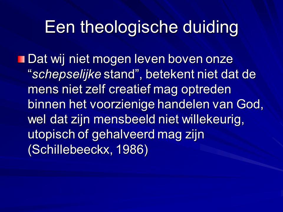 Een theologische duiding