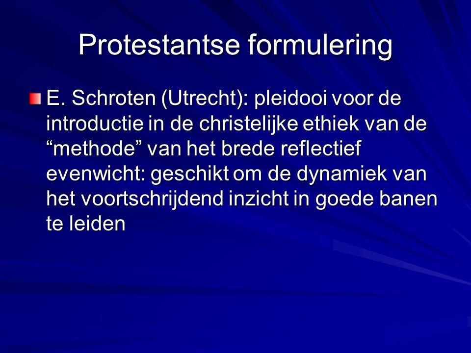 Protestantse formulering