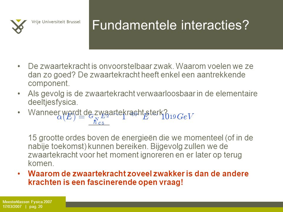 Fundamentele interacties