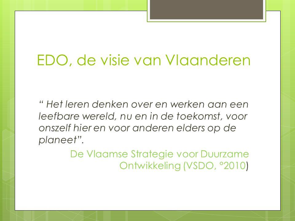 EDO, de visie van Vlaanderen