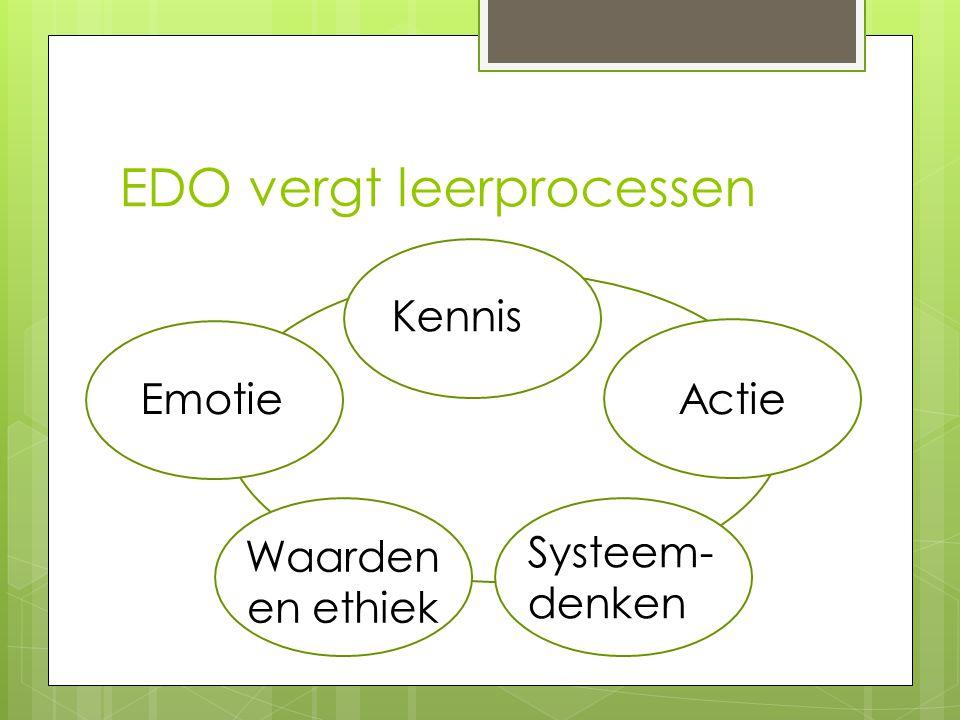 EDO vergt leerprocessen