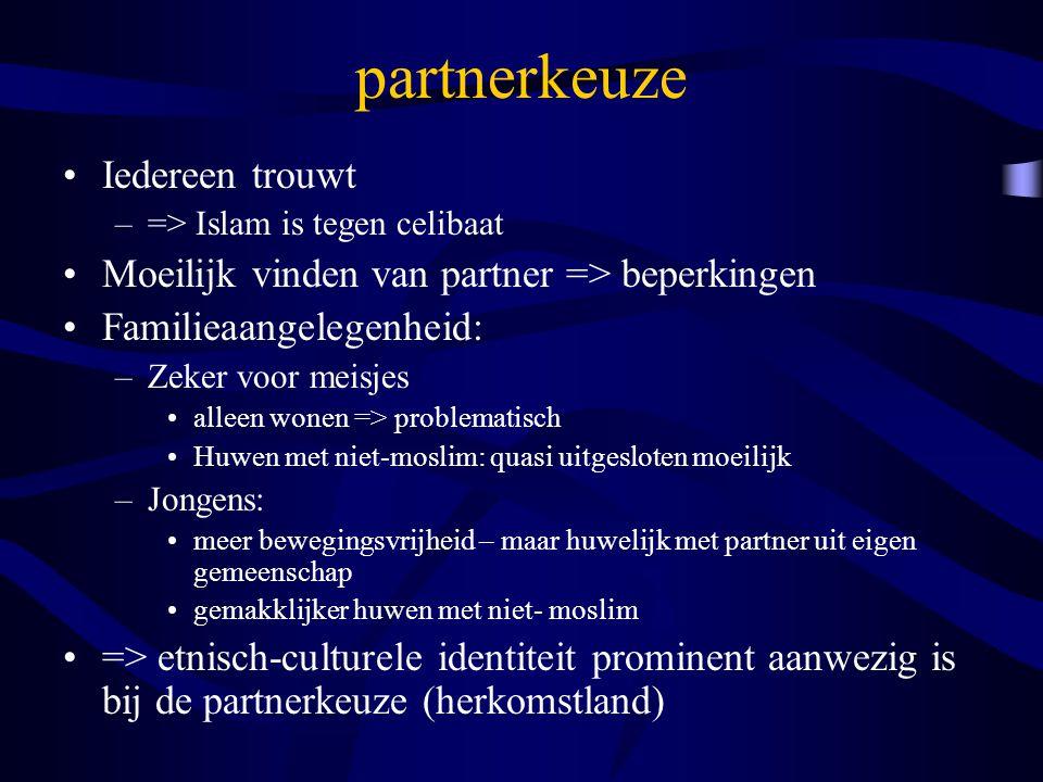partnerkeuze Iedereen trouwt