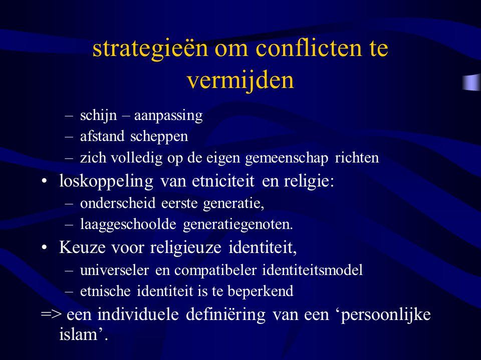 strategieën om conflicten te vermijden