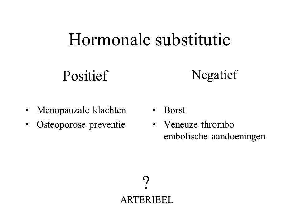 Hormonale substitutie