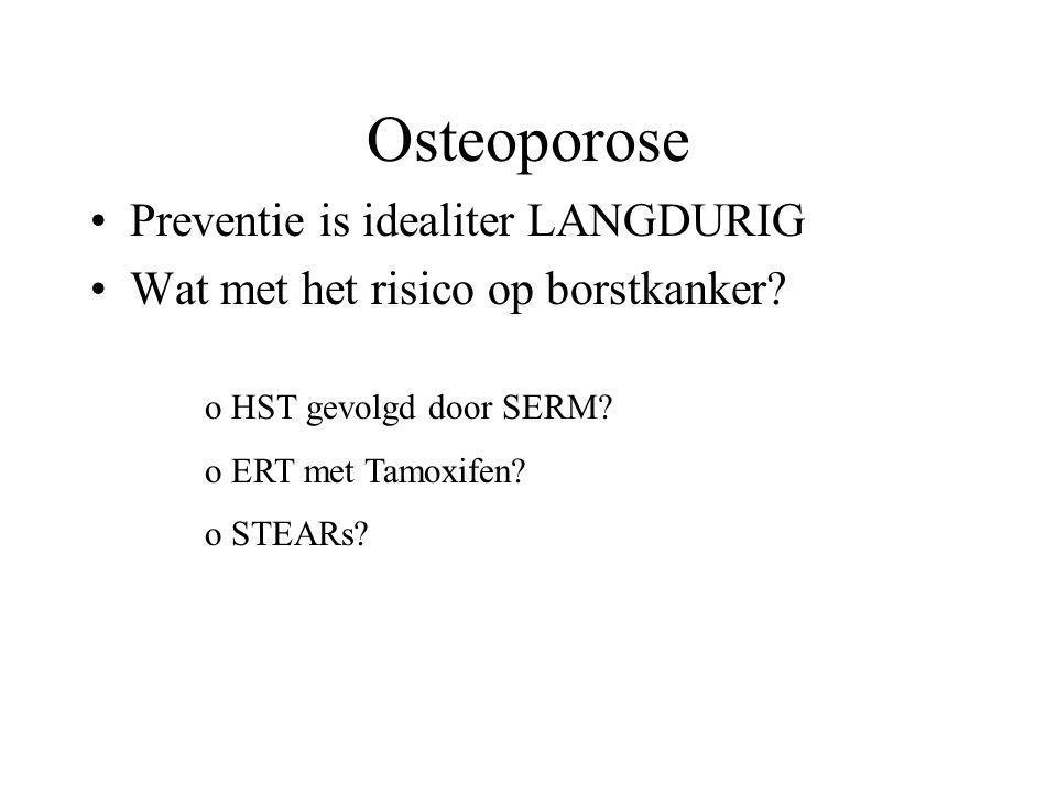 Osteoporose Preventie is idealiter LANGDURIG