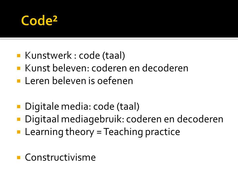 Kunstwerk : code (taal)