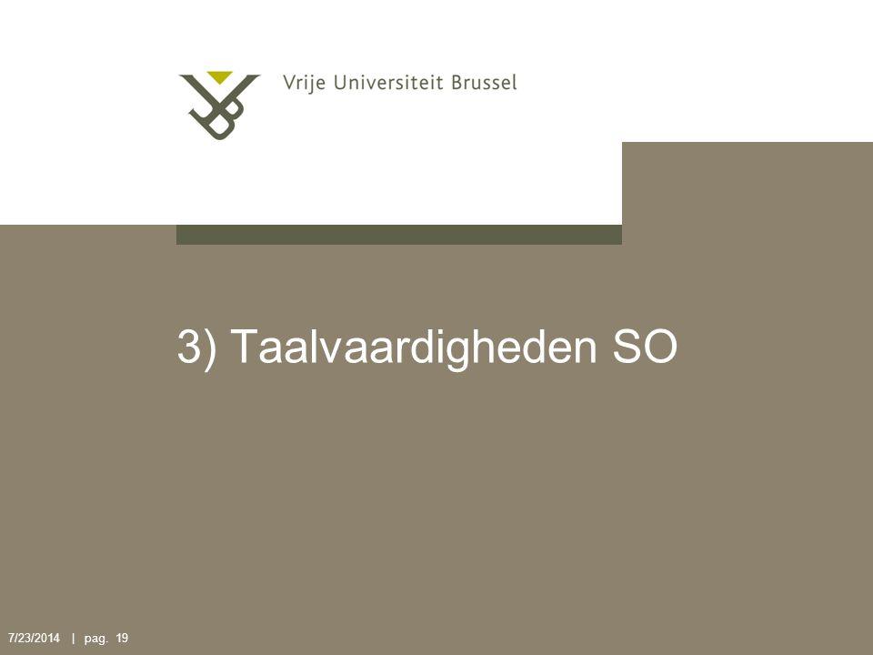 3) Taalvaardigheden SO 4/4/2017 | pag. 19