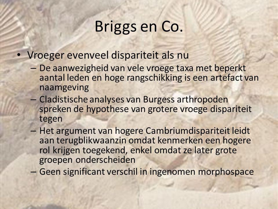 Briggs en Co. Vroeger evenveel dispariteit als nu