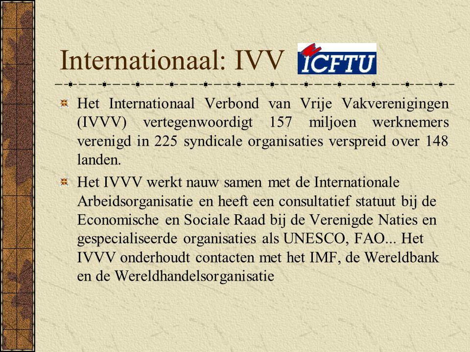 Internationaal: IVV