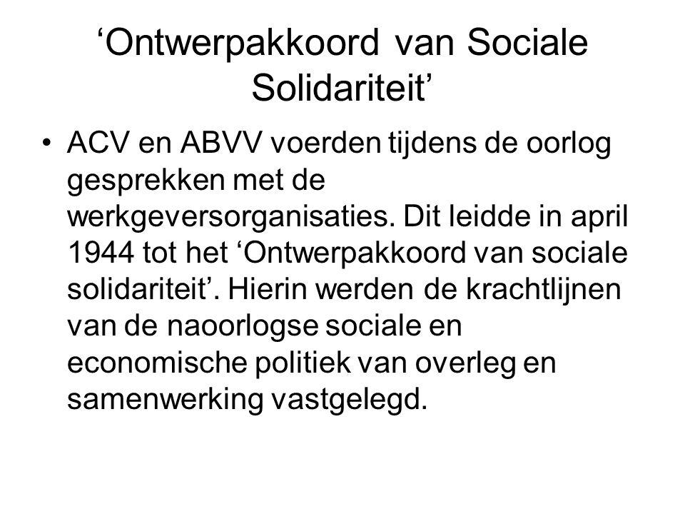 'Ontwerpakkoord van Sociale Solidariteit'