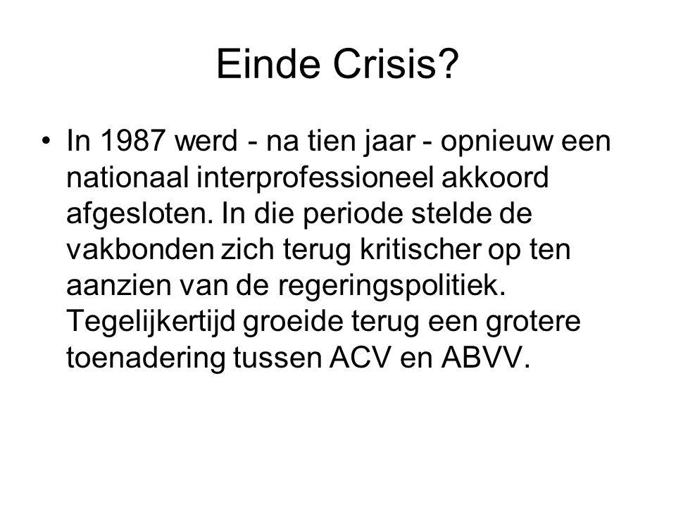 Einde Crisis