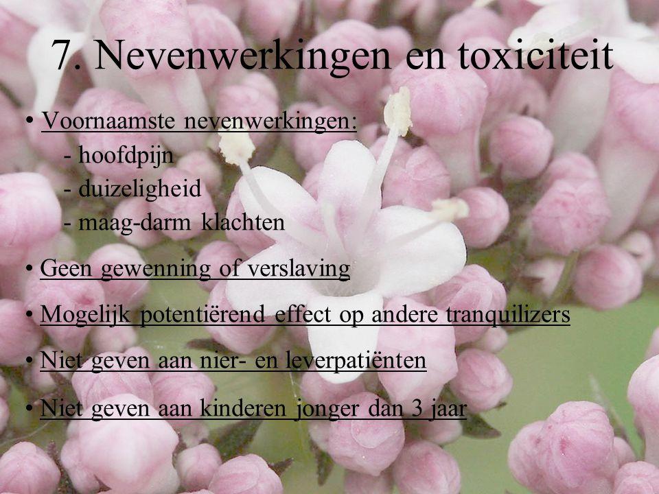 7. Nevenwerkingen en toxiciteit