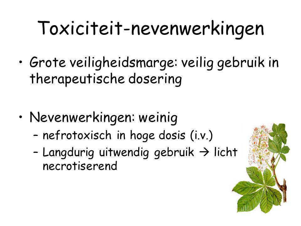 Toxiciteit-nevenwerkingen