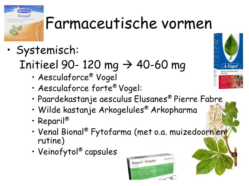 Farmaceutische vormen