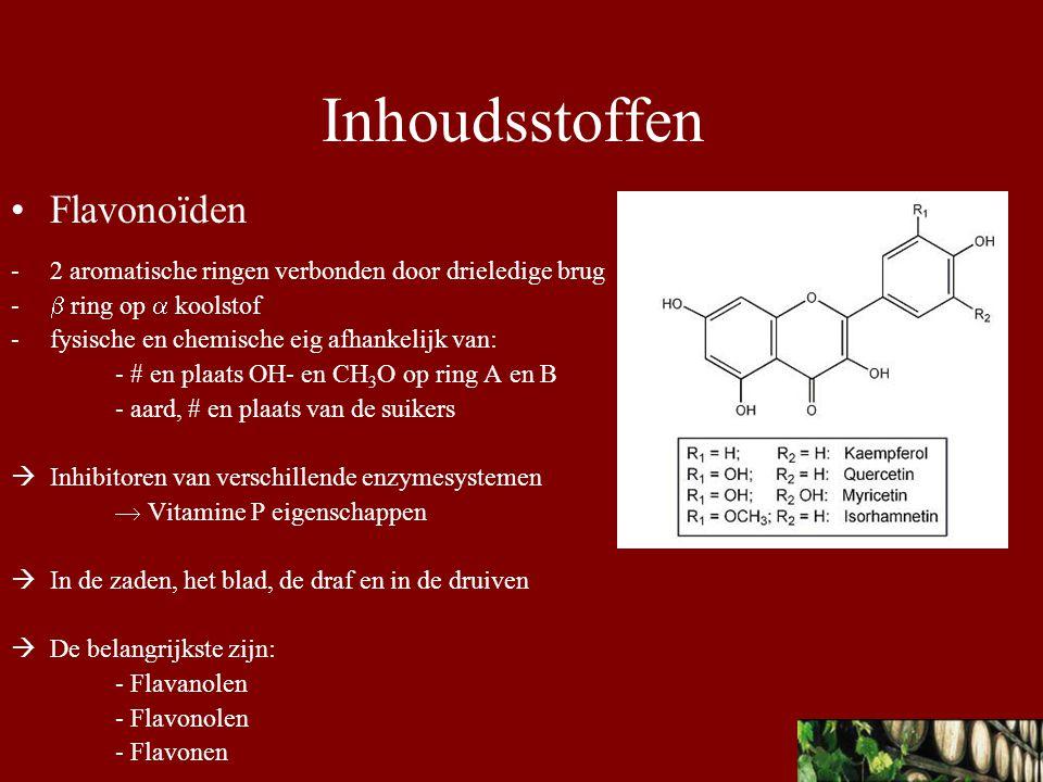 Inhoudsstoffen Flavonoïden
