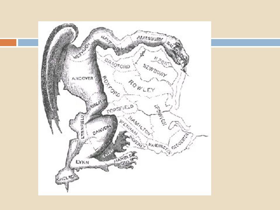 Gerrymandering: aanpassen van grenzen van kiesdistricten om strategische redenen