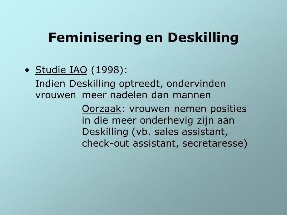 Feminisering en Deskilling