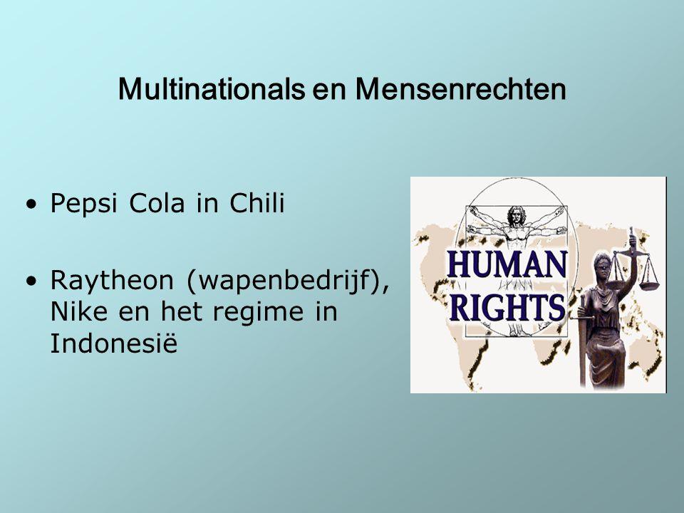 Multinationals en Mensenrechten