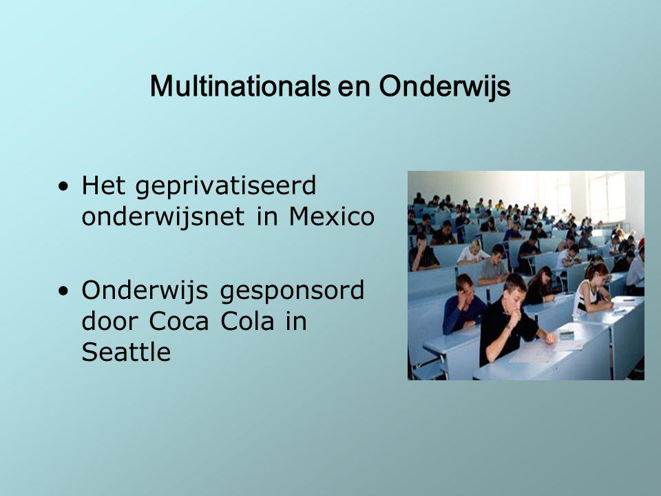Multinationals en Onderwijs