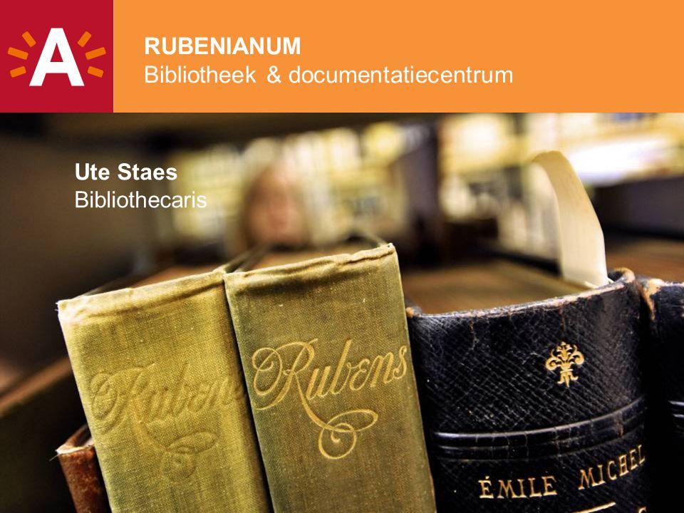 RUBENIANUM Bibliotheek & documentatiecentrum