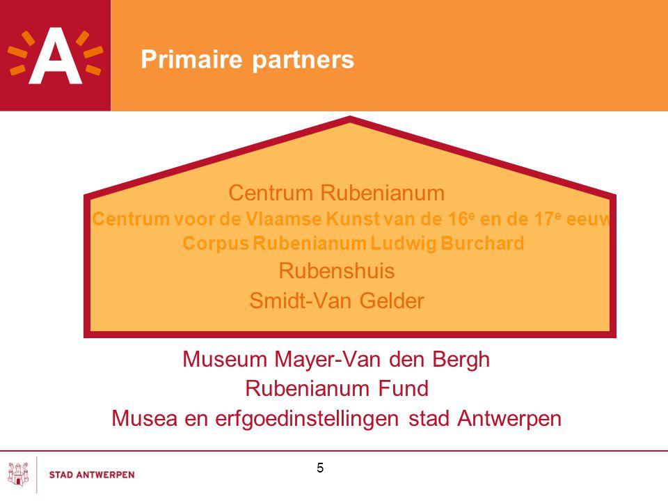 Primaire partners Centrum Rubenianum Rubenshuis Smidt-Van Gelder