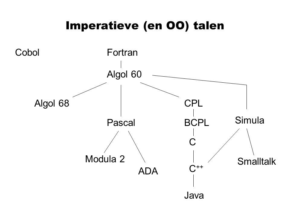 Imperatieve (en OO) talen