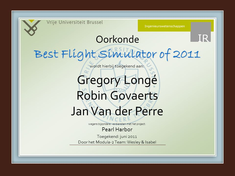 Best Flight Simulator of 2011