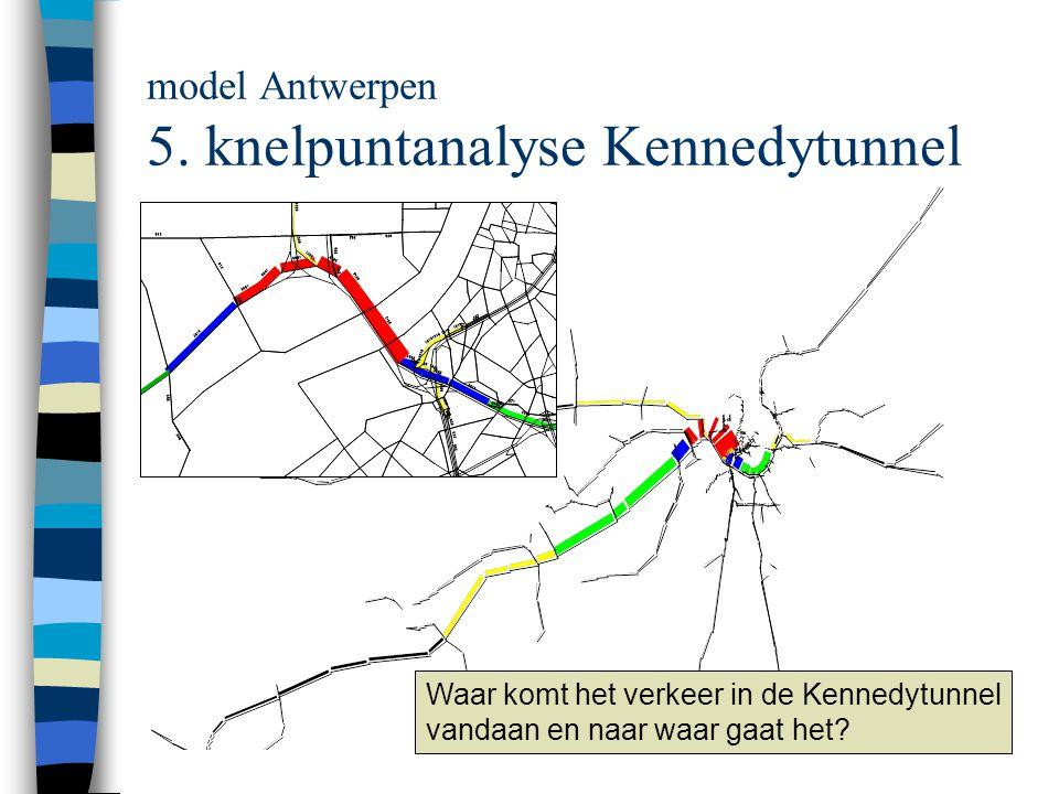 model Antwerpen 5. knelpuntanalyse Kennedytunnel