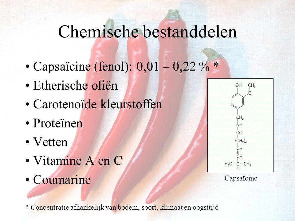 Chemische bestanddelen
