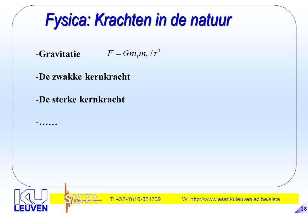 Fysica: Krachten in de natuur