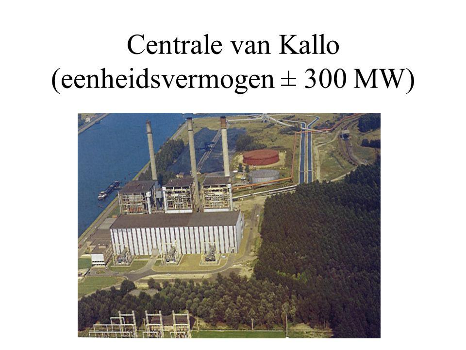 Centrale van Kallo (eenheidsvermogen ± 300 MW)