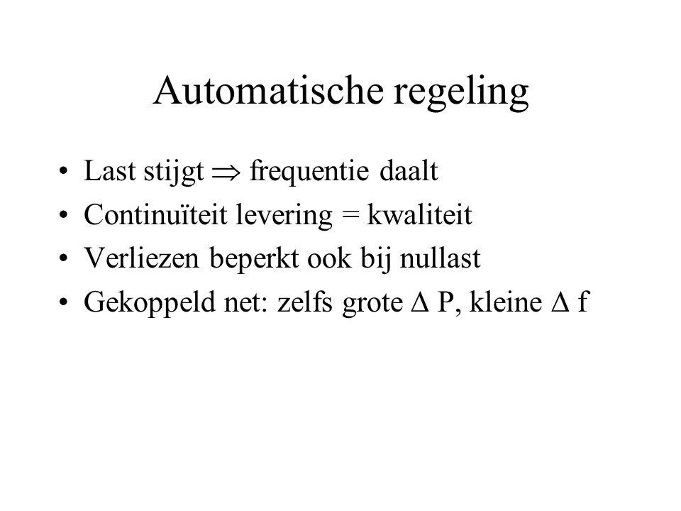 Automatische regeling