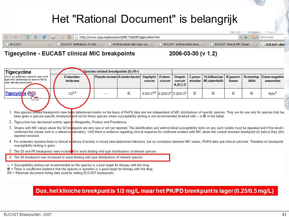 Het Rational Document is belangrijk
