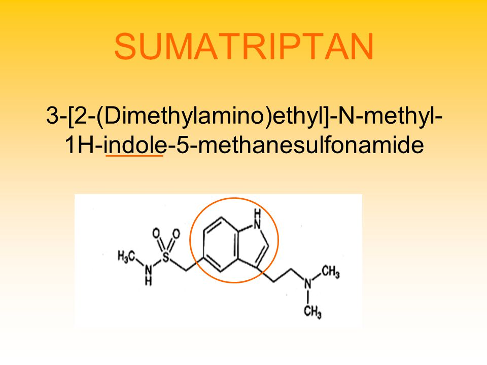 SUMATRIPTAN 3-[2-(Dimethylamino)ethyl]-N-methyl-1H-indole-5-methanesulfonamide