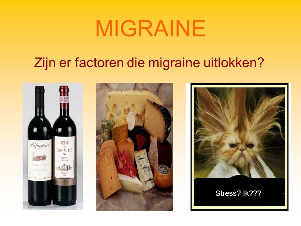Zijn er factoren die migraine uitlokken