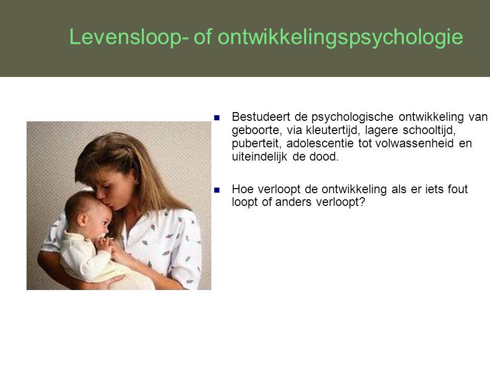 Levensloop- of ontwikkelingspsychologie