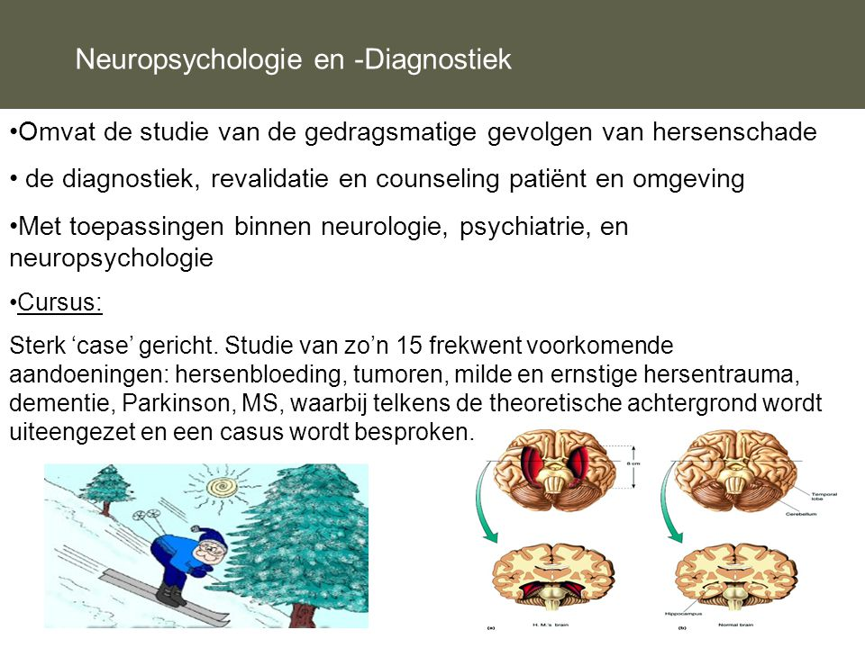 Neuropsychologie en -Diagnostiek