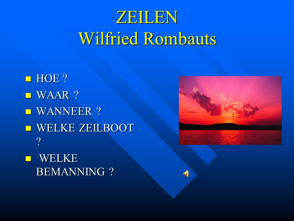 ZEILEN Wilfried Rombauts
