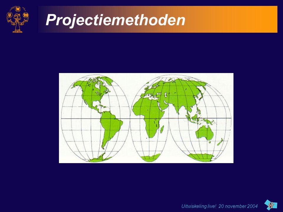 Projectiemethoden Uitwiskeling live! 20 november 2004