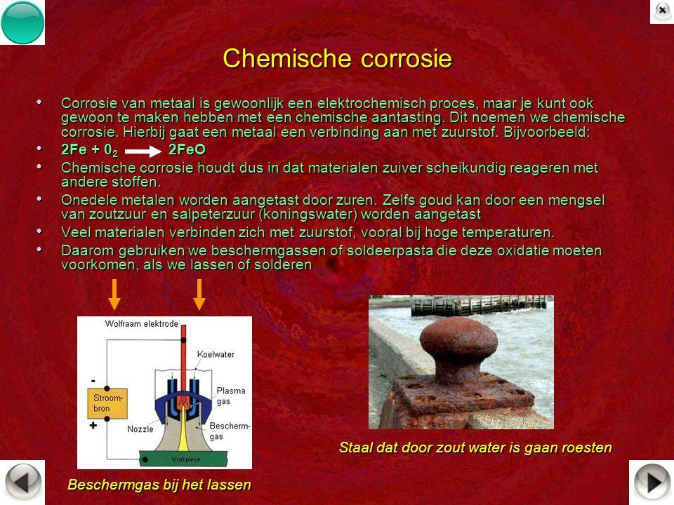 Chemische corrosie
