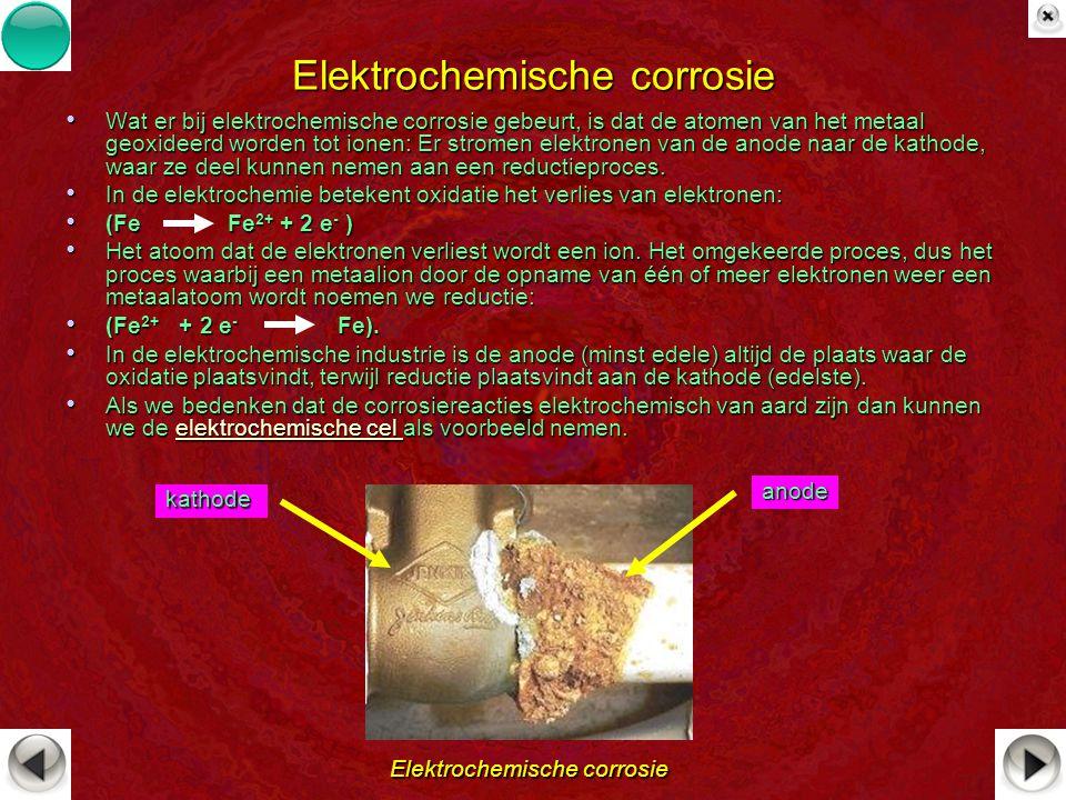 Elektrochemische corrosie