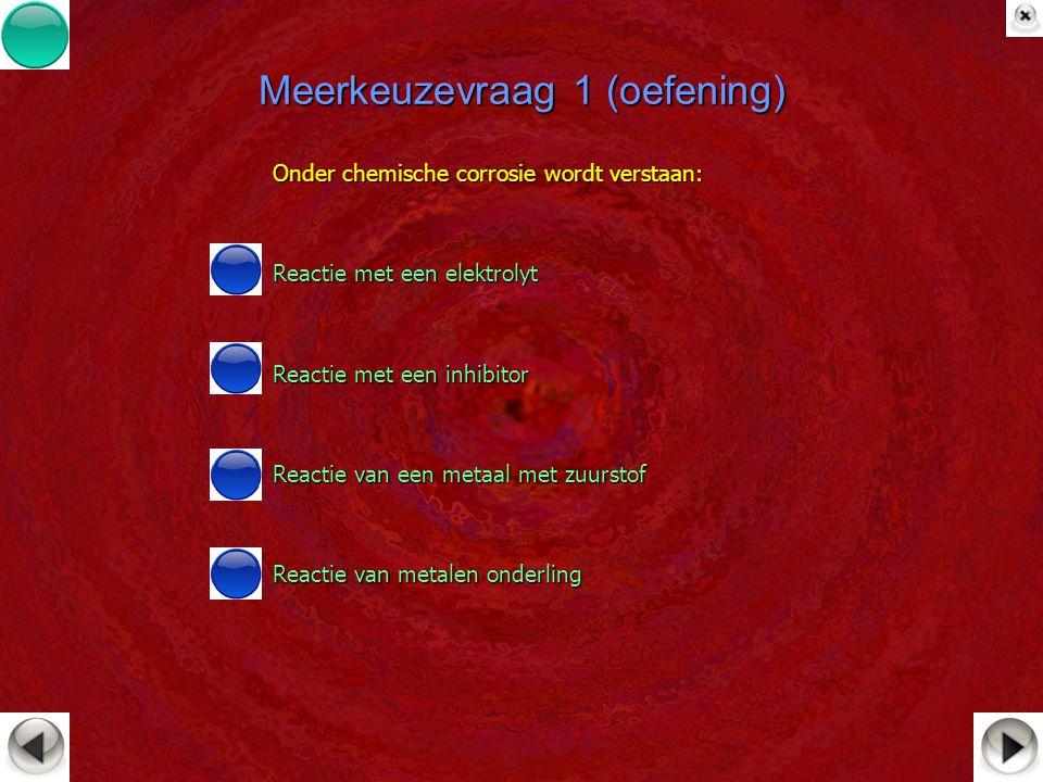 Meerkeuzevraag 1 (oefening)