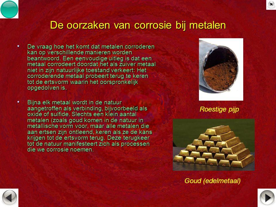 De oorzaken van corrosie bij metalen