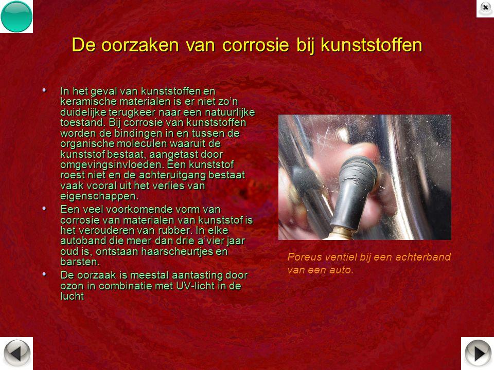 De oorzaken van corrosie bij kunststoffen