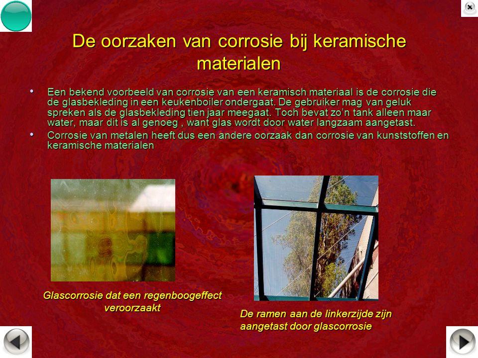 De oorzaken van corrosie bij keramische materialen