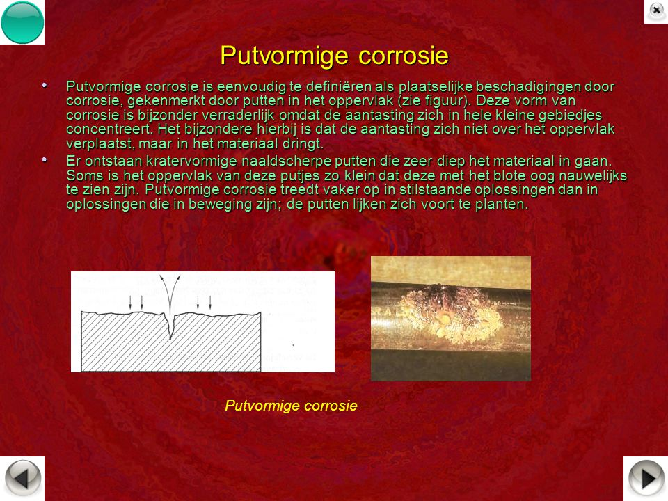Putvormige corrosie